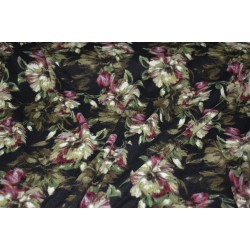 "Jersey morbido "" fleurs d'automne"""