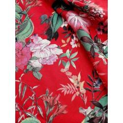 Misto Lino fiore rosso